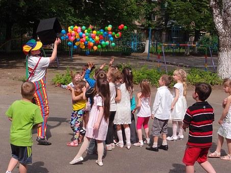 organizacja imprez dla dzieci z animatorem