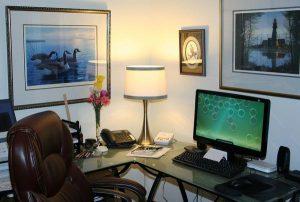 Eleganckie biurowe wnętrze
